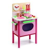 Cucina in legno rosa Lila's cooker DJ06504