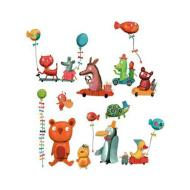 Animals party - adesivi