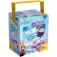 Puzzle In A Tub Mini 35 X 50 60 Pezzi Frozen (65264)