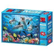 Puzzle 3D H. Rob: Delfini