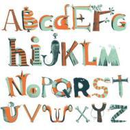 L'alfabeto dei pirati - adesivi