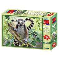 Puzzle 3D H. Rob: Lemuri 48 pezzi