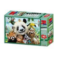 Puzzle 3D H. Rob: Zoo Selfie 63 pezzi