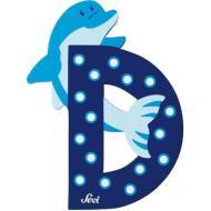Lettera D Delfino