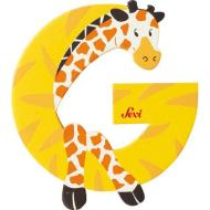 Lettera G Giraffa