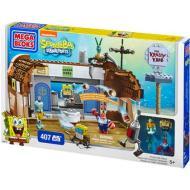 Mega Bloks Spongebob Squarepants Play Set Krusty Krab (94613U)
