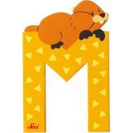 Lettera M Marmotta