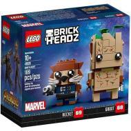 Groot e Rocket - Lego Brickheadz (41626)