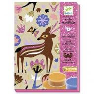 Woodland Wonderland sabbia colorata Animali del bosco (DJ08662)