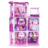 La casa dei sogni + 3 Barbie Fashionistas (V4373)