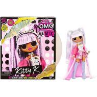 L.O.L. Surprise! O.M.G. Remix - con 25 Sorprese Bambola Kitty K