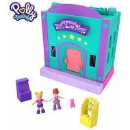Polly Pocket Sala Giochi, Playset Richiudibile con Due Mini Bambole (GFP41)