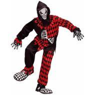 Costume Evil Jester 8-10 anni