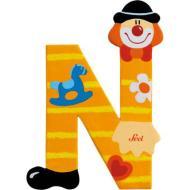 Lettera N Clown