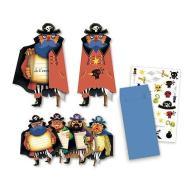 Pirates invitation cards Biglietti invito party pirata (DJ04784)