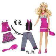 Barbie and Fashion set