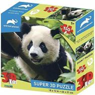 Puzzle 3D Animal Planet: Panda gigante 150 pezzi