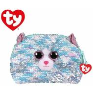 Whimsy gatto Pochette glitter