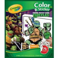 Album Color'n Sticker Tartarughe Ninja (04-5824)