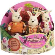 Li'L Woodzeez famiglia Coniglietto (6006M)