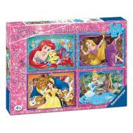 Disney Princess Puzzle 4x42 Bumper Pack (06857)