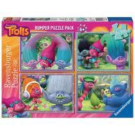 Trolls Puzzle 4x42 Bumper Pack (06861)