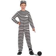 Costume prigioniero tg.VI 8-10 anni (65893)