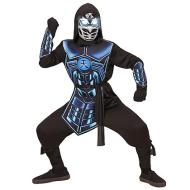 Costume cyber ninja 5-7 anni