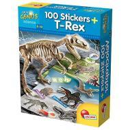 Piccolo Genio Dino 100 Stickers T-Tex (59775)