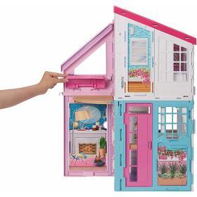 Barbie Casa Di Malibu Playset Richiudibile Due Piani Con Accessori Fxg57 Casa Delle Bambole E Accessori Mattel Giocattoli Chegiochi It