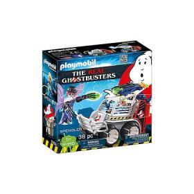 Spengler con Veicolo Acchiappa Fantasmi Ghostbusters Playmobil 9386