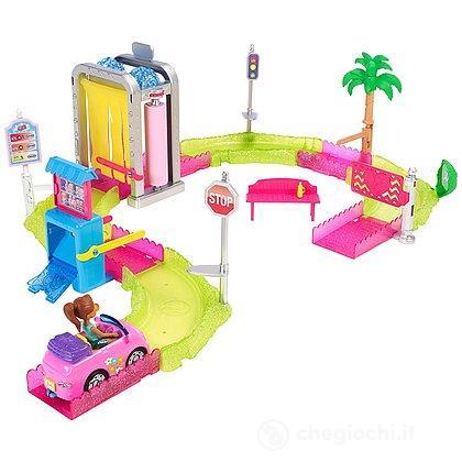 Barbie Parti e Vai Autolavaggio (FHV91)