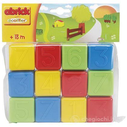 Abrick Cubetti 12 Pezzi (7600000404)