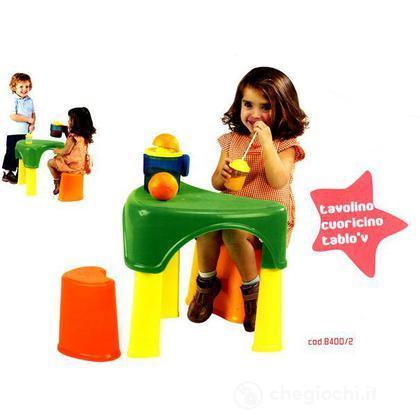 Tavolino Cuoricino con sedia