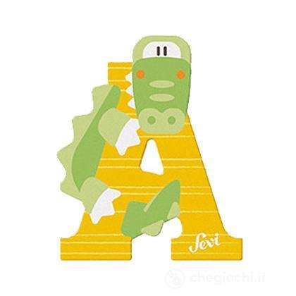 Lettera A Alligatore (83001)