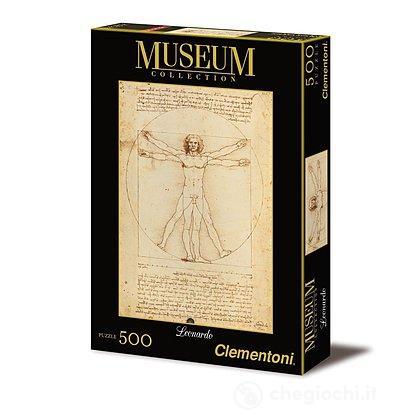 Leonardo: Uomo Vitruviano Museum Collection (35001)