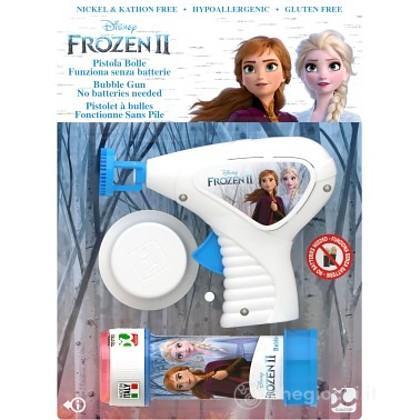 Pistola bolle sapone Frozen