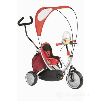 Triciclo Oko Plus borsa e cruscotto elettronico