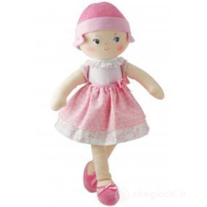 Bambola di pezza rosa