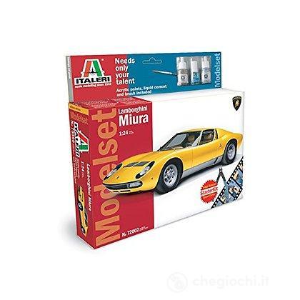Lamborghini Miura + colori, pennello e colla 1/24 (IT72002)