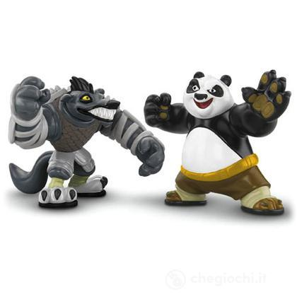 Kung Fu Panda 2 -  Po VS Lupo Boss (V7574)