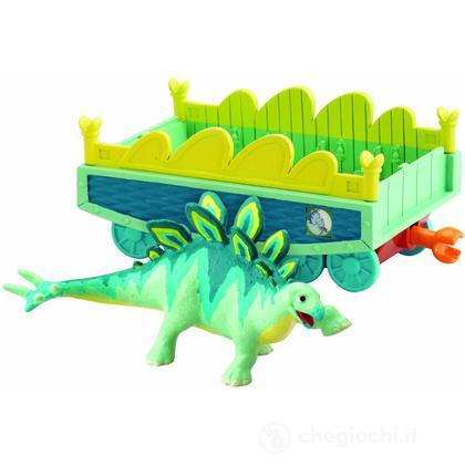 Morris Dino Trains Personaggi Con Vagone