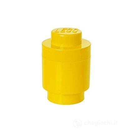 Contenitore LEGO Brick 1 Tondo Giallo