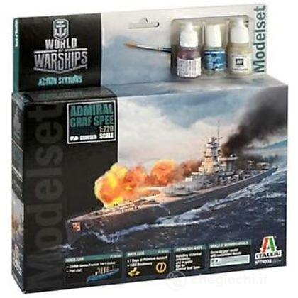 Nave World Of Warships Admiral Graf Spee 1/720 (IT74003)