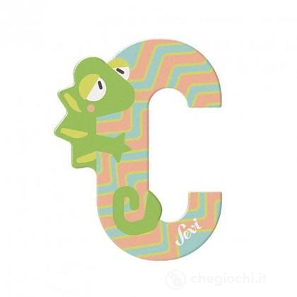 Lettera C Camaleonte (83003)