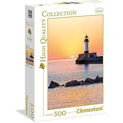 Sunset to the Lighthouse 500 pezzi High Quality Collection (35003)