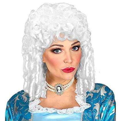 Parrucca Stile Barocco Bianca