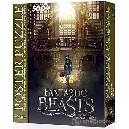 Harry Potter - Fantastic Beasts Macusa (Poster Puzzle 500 Pz)