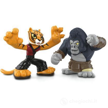 Kung Fu Panda 2 - Tigre VS Gorilla (V7576)