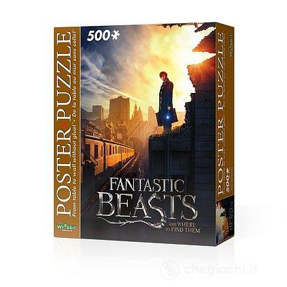 Harry Potter - Fantastic Beasts New York City (Poster Puzzle 500 Pz)